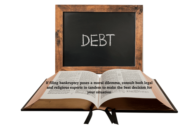 bankruptcy and moral decisions blog